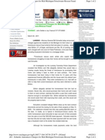 Michigan - Attorney General Announces Charges for Mid-Michigan Foreclosure-Rescue Fraud - March 30, 2011
