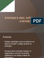 ENFOQUE DEL NIÑO ANEMICO