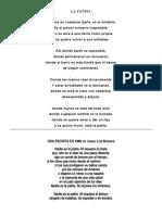 2 poemas, Elijan ustedes