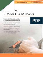 BAHCO 009 Limas y Limas Rotativas