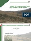ESTIMACION DE BIOMASA FORESTAL EN ECOSISTEMAS