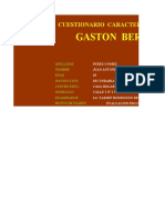 Test Caracterologico Gaston Berger