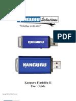 Kanguru FlashBluII User Guide