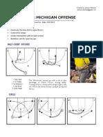 John Beilein Offense Michigan Duke Game Jimmie Oakman