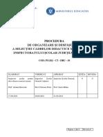 Procedura Metodisti 2021-2022