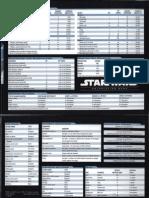Star Wars (Saga Edition) GM Screen