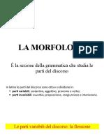 Morfologia 1 introduzione