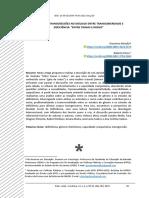 Criações e Transgressões No Diálogo Entre Transgeneridade e Deficiência Entre Travas e Rodas