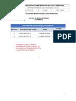 COMENTADO Especificaciones Técnicas Válvulas Mariposa