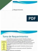 Resumen Identificación Requerimientos