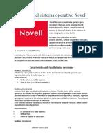 Resumen del sistema operativo Novell