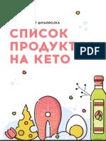Кето-продукты