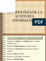 METODOLOGIA AUDITORIA INFORMATICA