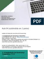 GC - AULA 04.1 - 2020.2 - OCDE-SOX