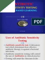 Antibiotic Sensitivity Testing In