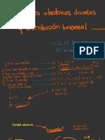 8. Variables Aleatorias y Distribución Binomial