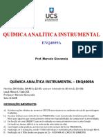 Introdução à Química Analítica Instrumental
