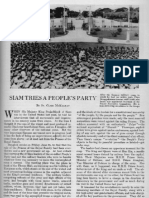 Siam Tries a People's Party