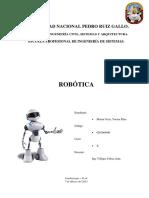 Listado de requerimientos del robot