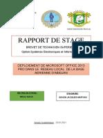 Rapport de Stage Maryan