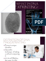 DNA Fingerprinting Project