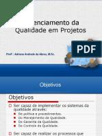 Gerenciamento de Projetos - Metodologia e Aplicacao - Qualidade