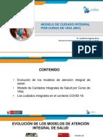 Modelo de Cuidado Integral de Salud Por Curso de Vida Para La Persona, Familia y Comunidad
