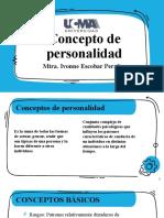 CONCEPTOS BÁSICOS, FACTORES Y CARACTERISTICAS DE LA PERSONALIDAD