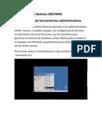 Configuración de herramientas administrativas