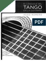 El Lenguaje Del Tango en La Guitarra (Hugo Romero)