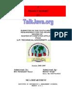 TalkJavaDoc(Rahul Mehta)