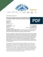 Forest and Lawn Sudbury - Grasshopper Solar - Press Release Solar Power System Partnership