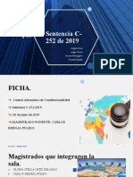 Sentencia C-252 de 2019