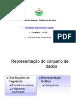 Distribuição de Freqüência APDN