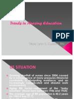 Trends in Nursing Education