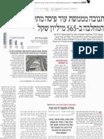 """פאנגאיה נדל""""ן מקב' קנדה-ישראל רכשה את מתחם תנובה (מעיתון """"הארץ"""")"""