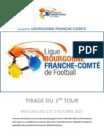 Tirage du premier tour de la Coupe de Bourgogne-Franche-Comté