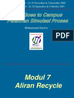 Modul 7A Hysys - Aliran Recycle