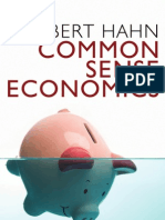 common_sense_economics_hahn
