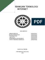 PERKEMBANGAN TEKNOLOGI INTERNET KELOMPOK II
