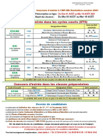 Fiche_informations Concours Bac 2021