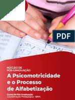 A Psicomotricidade e o Processo de Alfabetização Diagramada