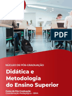 Didatica e Metodologia Do Ensino Superior Unimais 1