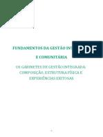 OS GABINETES DE GESTÃO INTEGRADA COMPOSICAO E ESTRUTURAS FISICAS