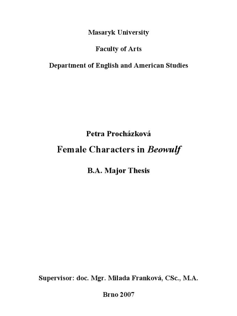 Female characters in beowulf beowulf hero buycottarizona Choice Image