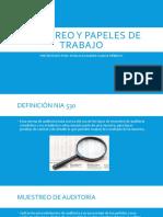 MUESTREO Y PAPELES DE TRABAJO (1)