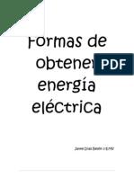 Formas de obtener energía