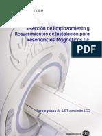 Requerimientos de Instalación para Resonancias Magnéticas GE