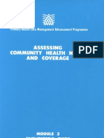 Module 2 Facilitator's Guide_Assessing Community Health Needs and Coverage