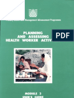 Module 3 User's Guide_ Planning and Assessing Health Worker Activities